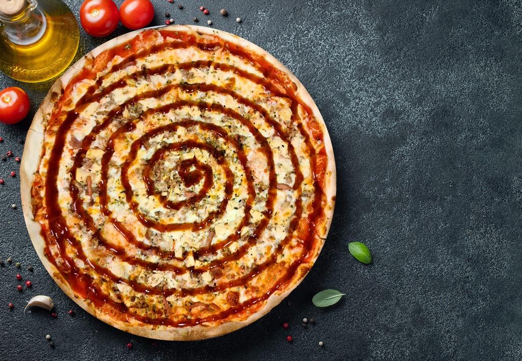 Pizza Barbacoa - Pizzeria Don Carlo Calella
