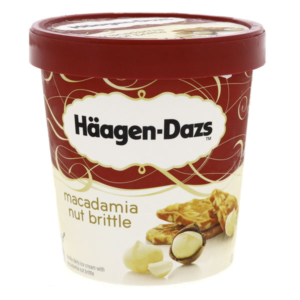 Häagen-Dazs Vanilla Macadamia
