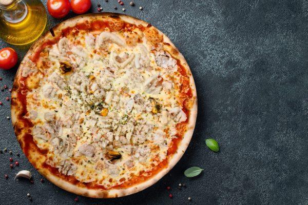 Pizza Marinera - Pizzeria Don Carlo Calella