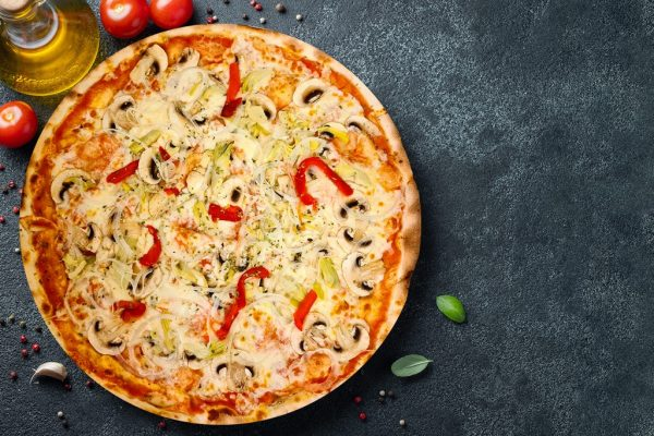 Pizza Vegetal - Pizzeria Don Carlo Calella