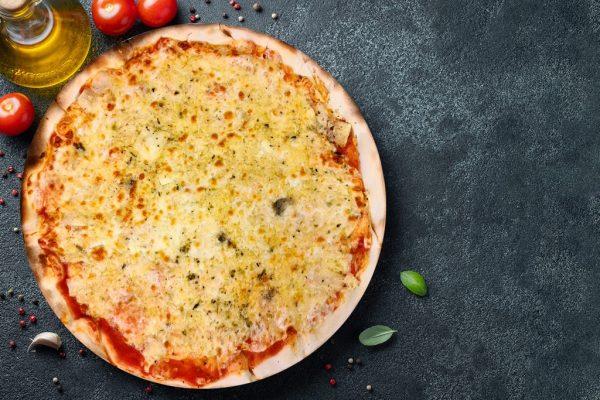Pizza 5 Quesos - Pizzeria Don Carlo Calella