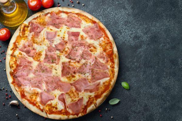 Pizza Prosciuto - Pizzeria Don Carlo Calella